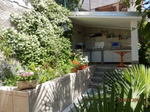 vrt i kuhinja